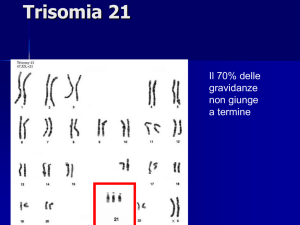 Trisomia 21 - vincenzonigro.it