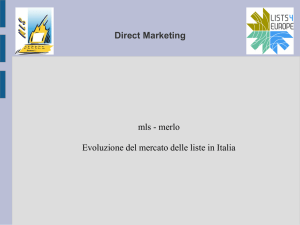 Consiglio di strategia - liste profilate per reclutare con il marketing