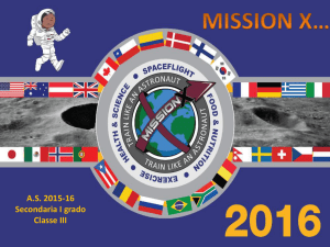 "A.s. 2015-16 Mission X (pps, 9 MB) - Istituto Comprensivo ""V. Alfieri"