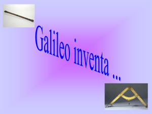 Diapositiva 1 - Performing Galileo