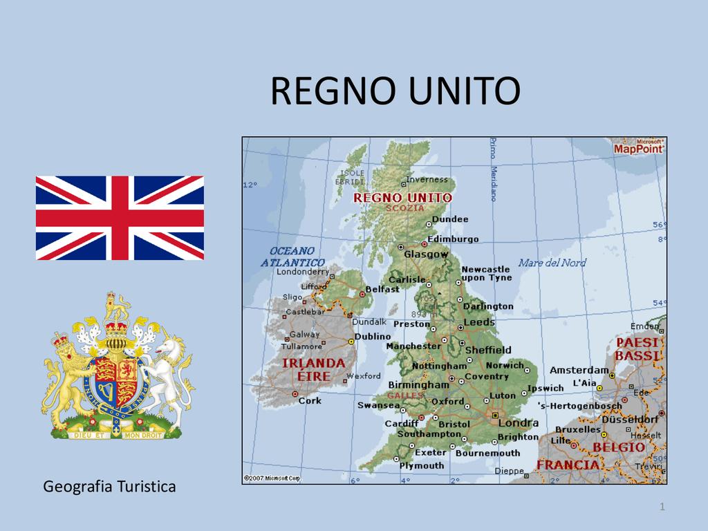 Cartina Inghilterra E Scozia.Pr Geo Liguori