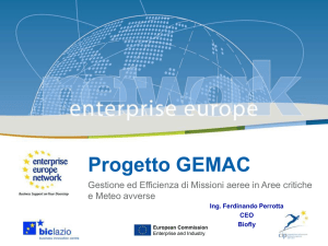 Progetto GEMAC - GEMAC Enterprise Network