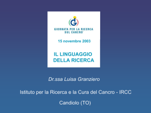 Cancro cell ppt