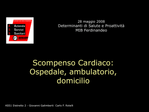 ospedale, ambulatorio e domicilio. di Carlo Rotelli e Gianni Galimberti