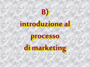 Marketing 4 - Università degli Studi dell`Insubria