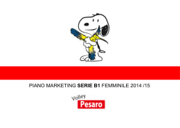 Piano Marketing - Confindustria Pesaro Urbino