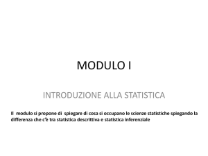 STATISTICA DESCRITITVA E INFERENZIALE File