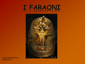 I FARAONi - WordPress.com