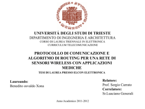 routing_per_rete_wireless - Università degli Studi di Trieste