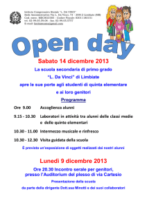 Open Day 14dic13