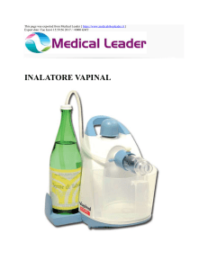 INALATORE VAPINAL : Medical Leader : http://www
