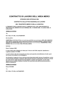 MODELLO CARTA INTESTATA