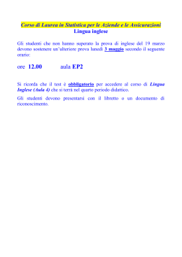 Calendario Lezioni Unicatt.Calendario Completo Delle Lezioni Universita Cattolica Del