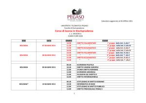 Calendario Esami Tor Vergata Giurisprudenza.Progetto Erasmus Student Placement Consorzio