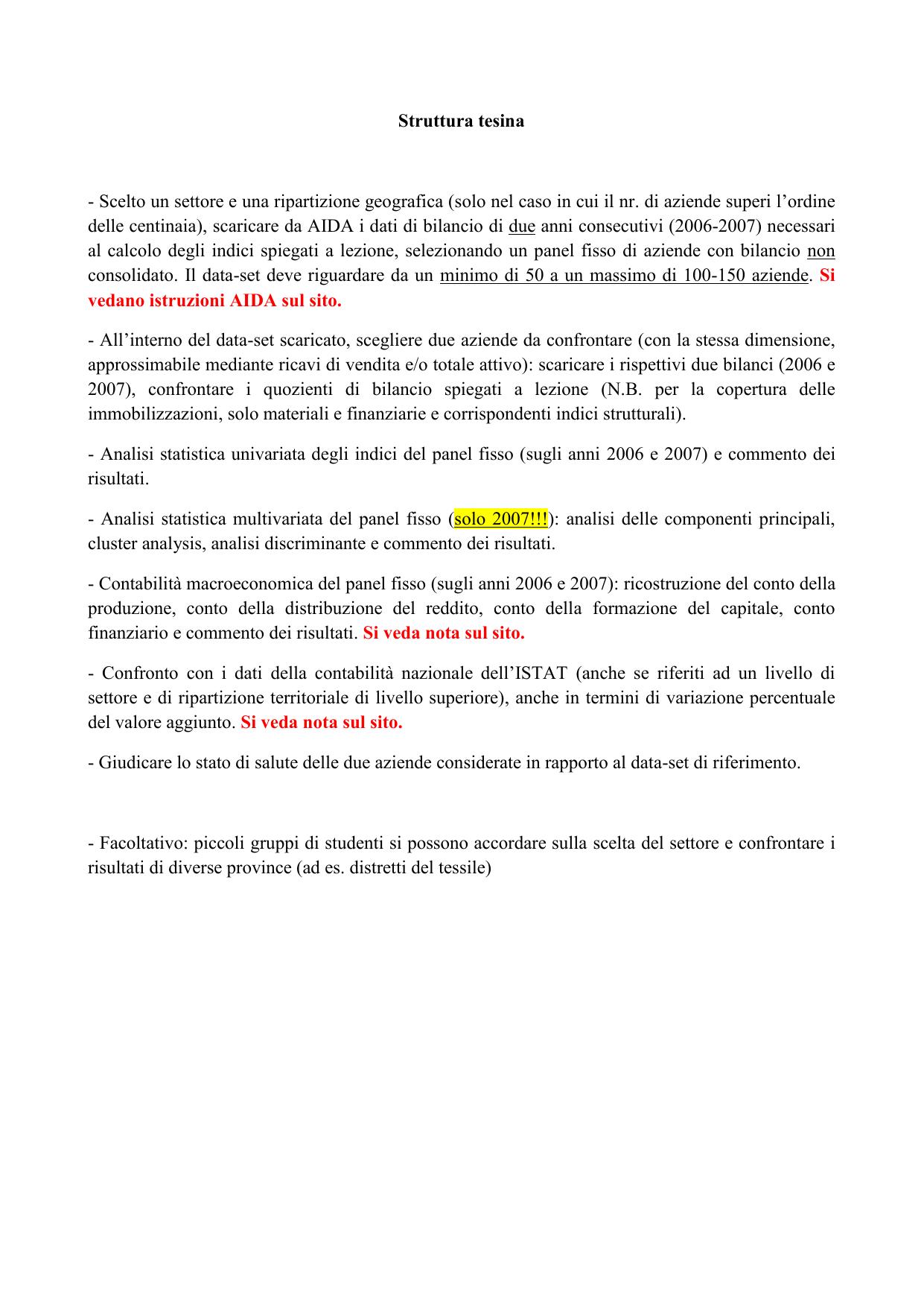 SCARICARE BILANCI DA AIDA