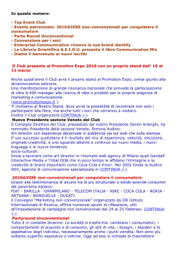 Newsletter n°2/2010 - Club del Marketing e della Comunicazione