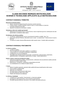2 anno - scienze e tecnologie applicate alle