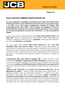 comunicato stampa - Sillabario Press