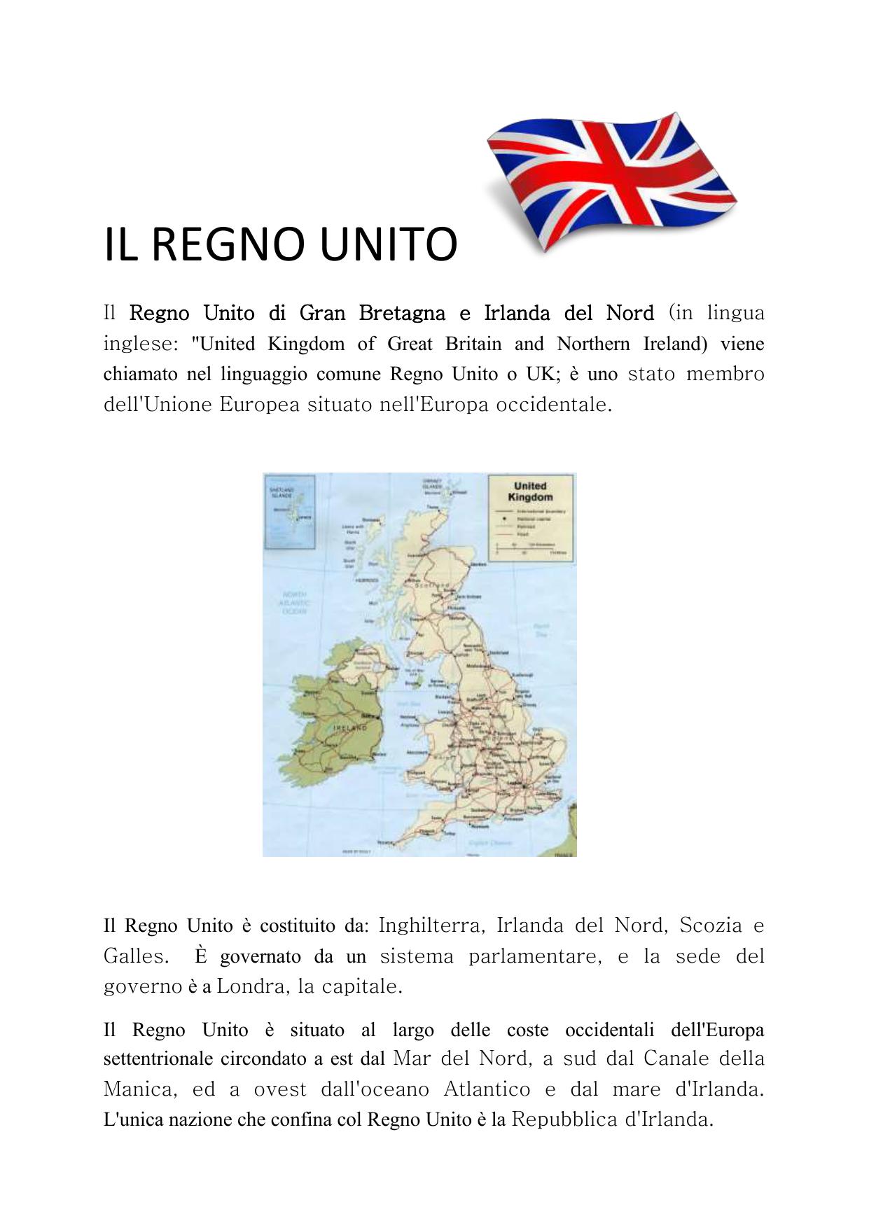 Cartina Muta Inghilterra Da Completare.Il Regno Unito Wordpress Com