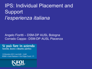 Cappa_Fioritti_IPS Individual Placement Support