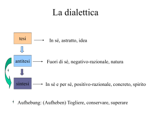 La dialettica - WordPress.com