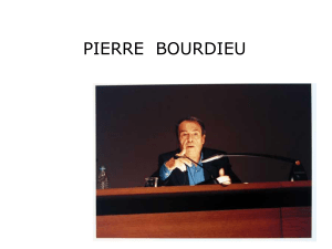 Pierre Bourdieu - I blog di Unica