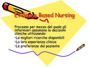 Evidence Based Nursing - Area