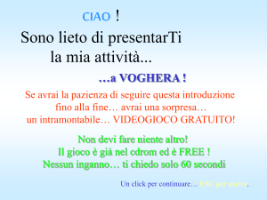 CONTINUA in FORMATO POWERPOINT 95
