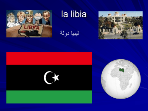 la libia - WordPress.com