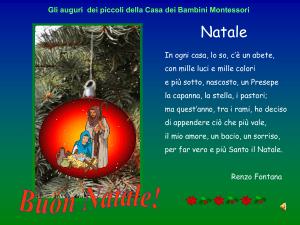 Poesie Di Natale In Rima.Il Natale E Poesia