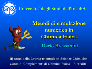 No Slide Title - Università degli Studi dell`Insubria