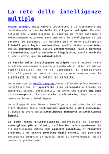 La rete delle intelligenze multiple