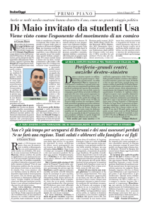 Di Maio invitato da studenti Usa