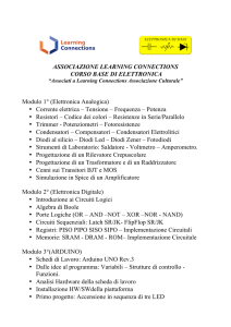 Programma del corso - Learning Connections