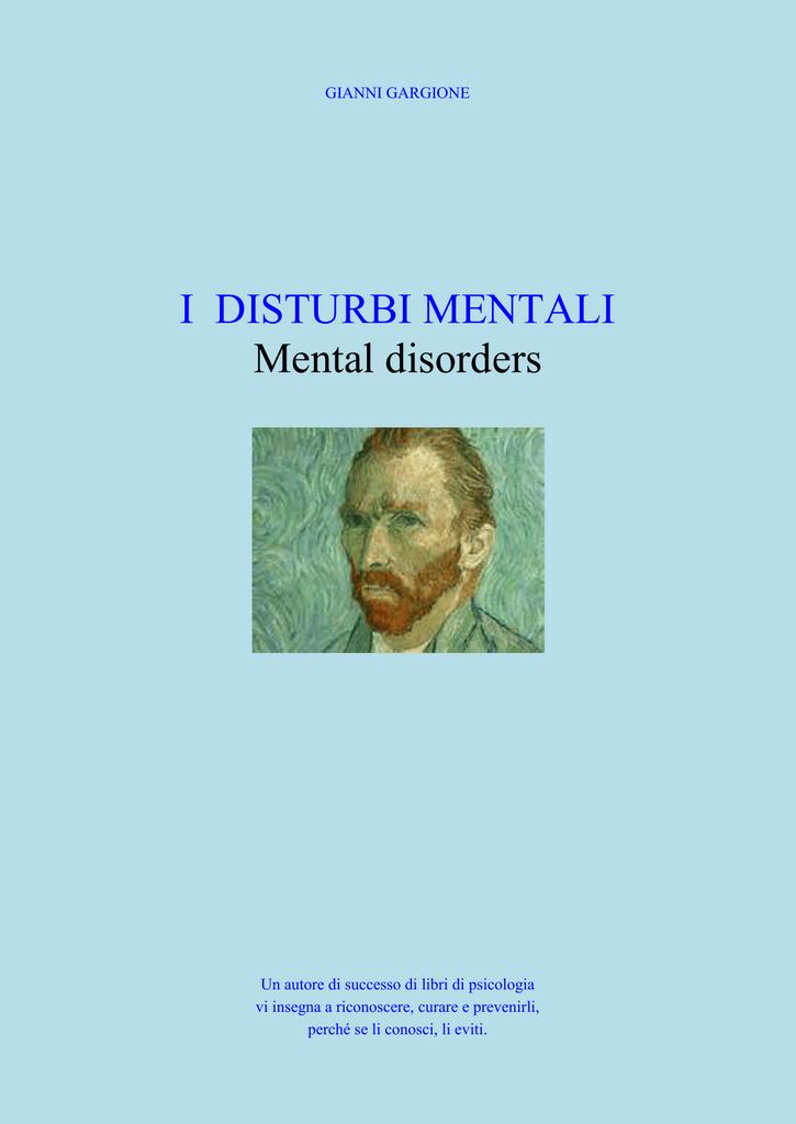 I DISTURBI MENTALI Mental disorders - Home Page del sito E 413937f3e6e4