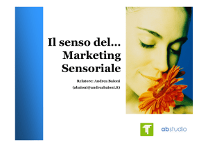 Microsoft PowerPoint - Marketing sensoriale.ppt