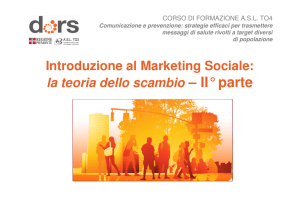 piano di marketing sociale