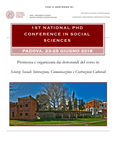 qui - 2nd NATIONAL PhD CONFERENCE IN SOCIAL SCIENCES