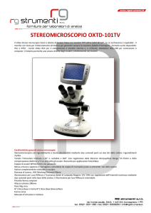 STEREOMICROSCOPIO OXTD-101TV