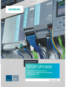 SITOP UPS1600 - Siemens Global Website
