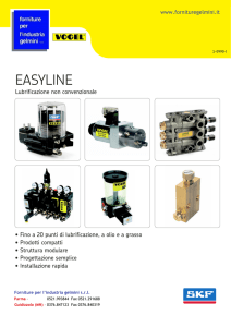 easyline - Forniture per l`industria Gelmini Srl