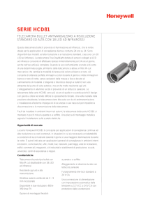 serie hcd81 - Honeywell Security