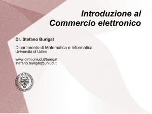 Il commercio elettronico - Server users.dimi.uniud.it