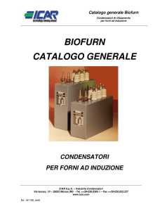 Catalogo generale Biofurn - Power Smart Systems