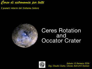 un asteroide - Cosa e come