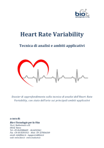 Heart Rate Variability - Bio