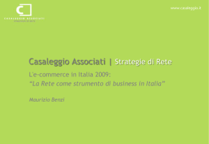 Casaleggio Associati | Strategie di Rete