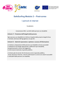 SafeSurfing Modulo 2 - post