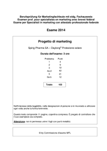 Specialisti in marketing Fallstudie Concetto di
