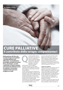 cure palliative - Regione Toscana